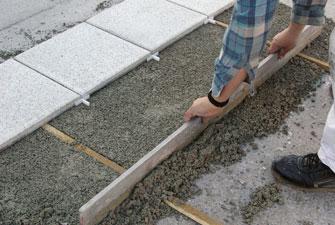 Terrassen Verlegematerial Häusler - Splittbett für terrasse