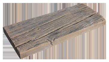 Gartenplatten Serie Versteinertes Holz Absolut Witterungsfest - Betonplatten holzoptik preis
